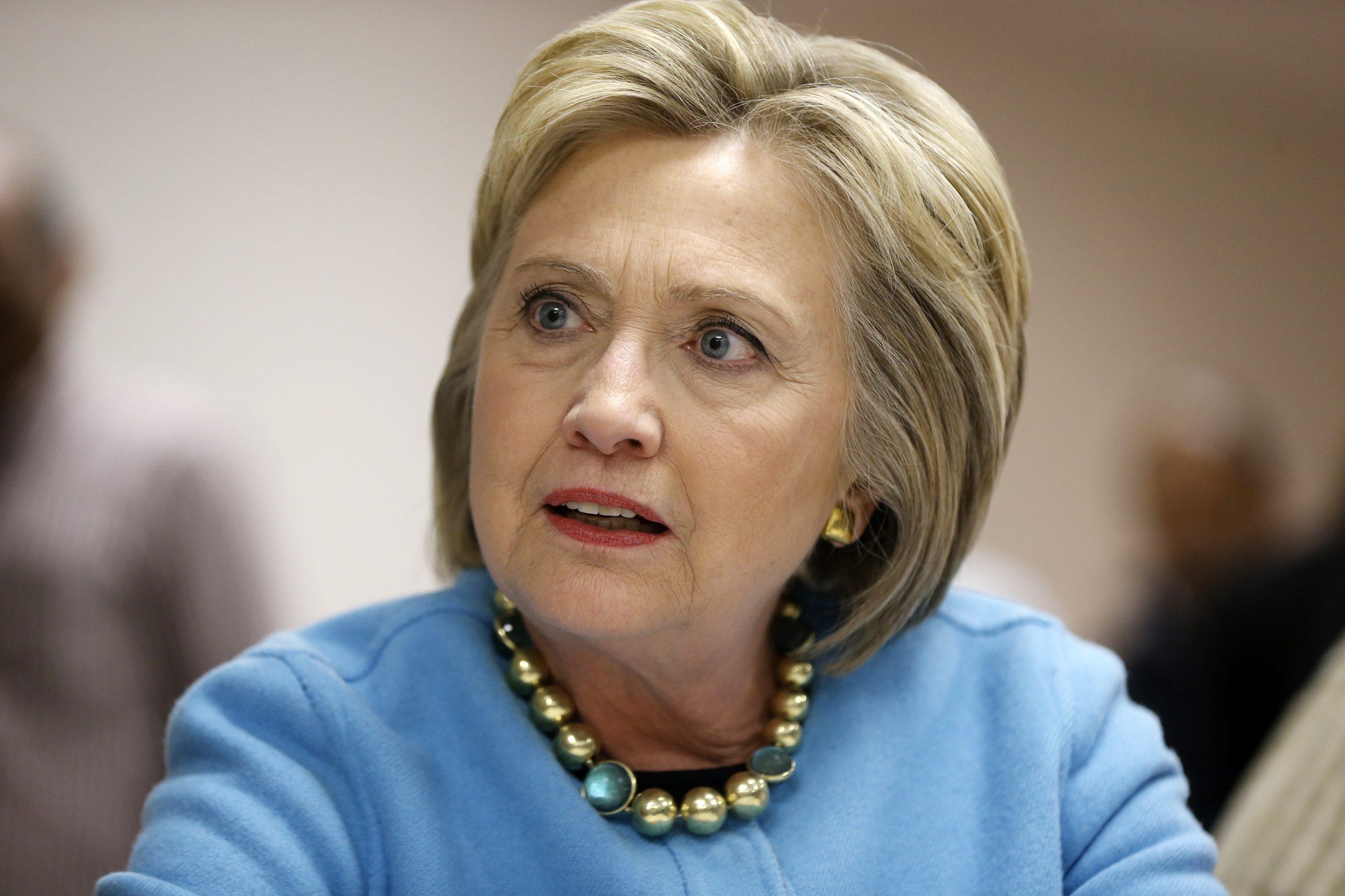 Hillary Clinton est favorable à l'avortement en fin de grossesse
