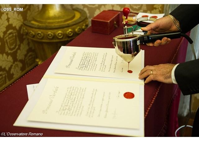 La convention fiscale entre le Vatican et l'Italie entre en vigueur
