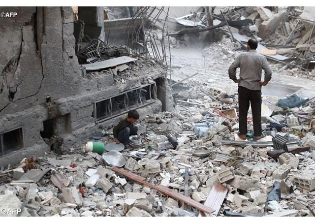 Syrie – Les enfants lancent une pétition pour la paix