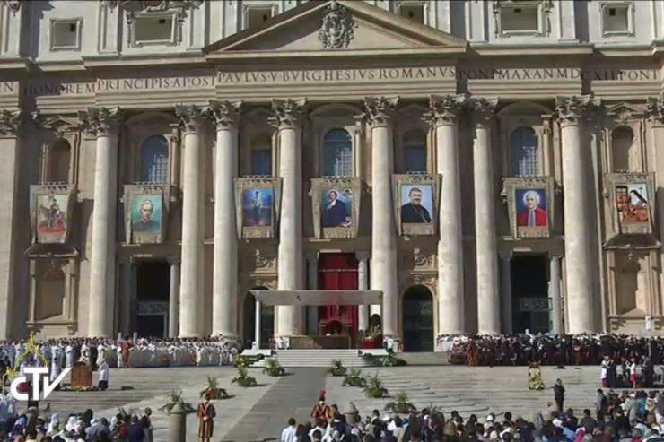 Homélie de canonisation de sainte Elisabeth de la Trinité, saint Salomon Leclercq et 5 autres saints