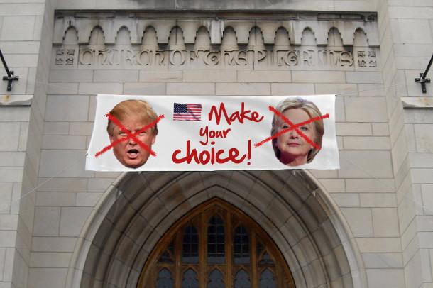 Pour l'évêque de Philadelphie, les électeurs n'ont pas un choix très brillant devant eux