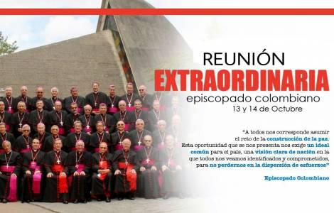 Message de la conférence épiscopale de Colombie en vue de la reconstruction et de la paix