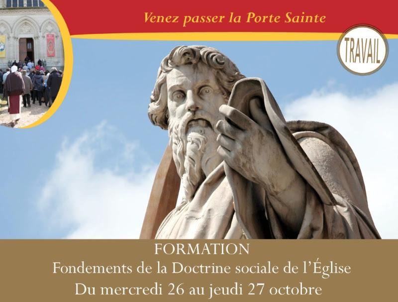 Initiation à la Doctrine sociale de l'Eglise avec la communauté Saint-Martin