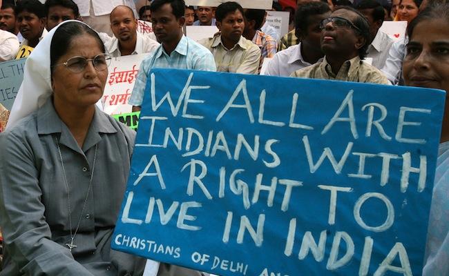 Le sort peu enviable des chrétiens en Inde
