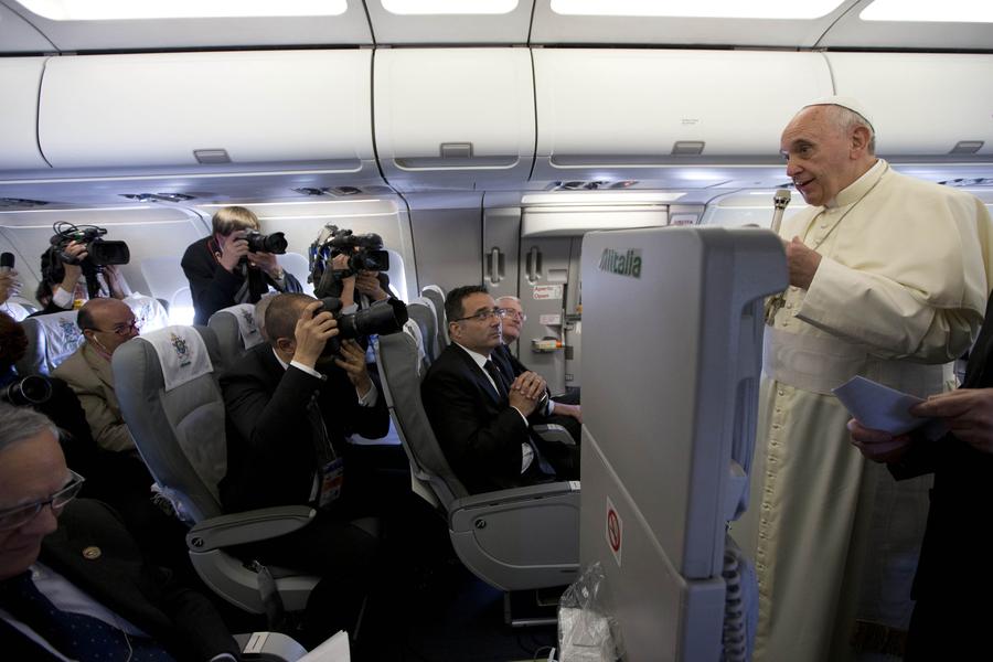 Propos du pape – Elections – Quand un pays n'a pas de candidat satisfaisant, il manque de culture politique
