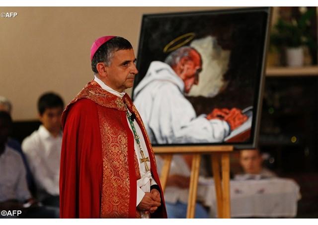 Le père Jacques Hamel, un martyr pour le Pape