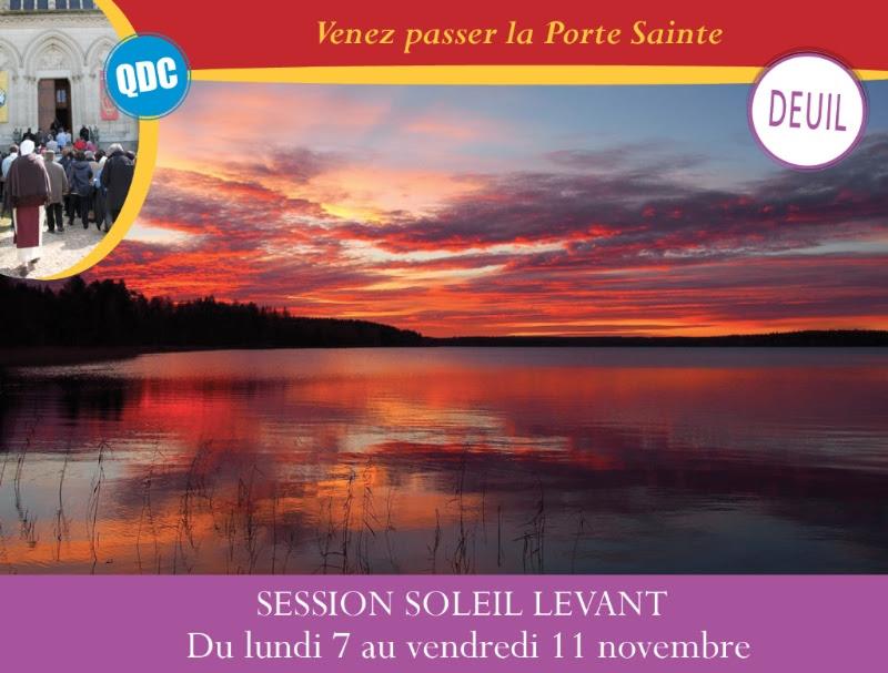 Montligeon: Écoute, réconfort et enseignements, piliers de la session Soleil Levant