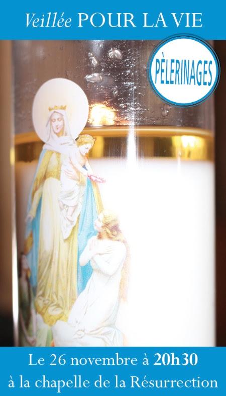 Veillée pour la vie au sanctuaire de Montligeon