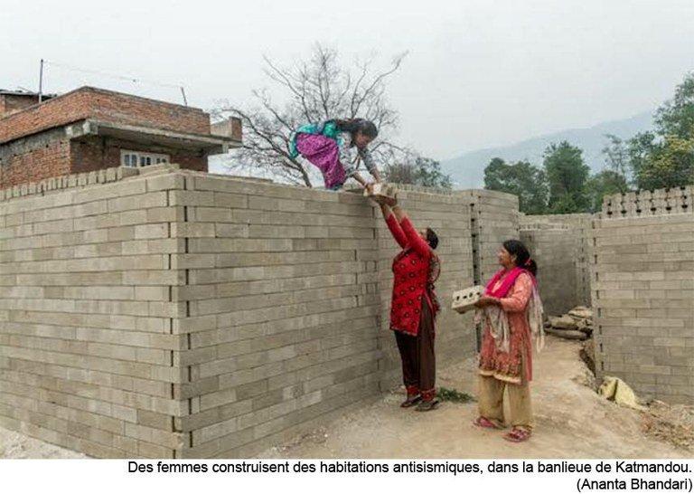 La Caritas Nepal à pied d'œuvre pour aider à la lente et difficile reconstruction du pays