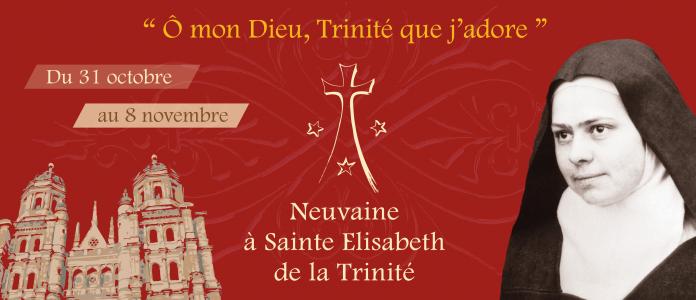 Du 31 oct au 8 nov: neuf jours pour prier avec Elisabeth de la Trinité, à la veille de sa fête
