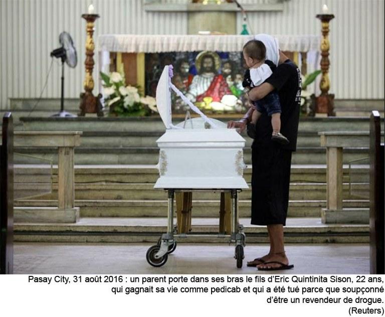 """Reportage aux Philippines – """"Guérir et non tuer"""": l'Eglise soutient le combat du président contre la drogue, mais pas ses méthodes"""