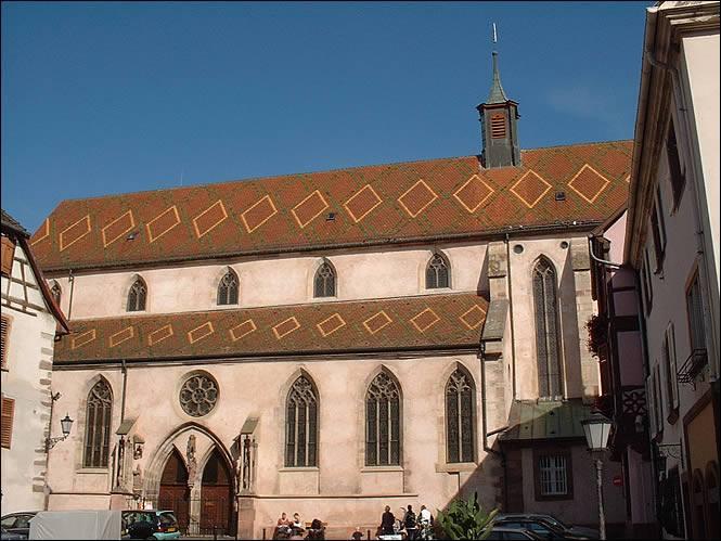 Alsace: Exposition de livres anciens au couvent de Ribeauvillé