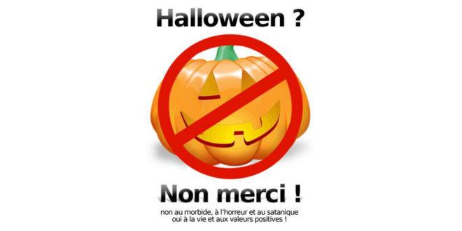 Boycottez Halloween!