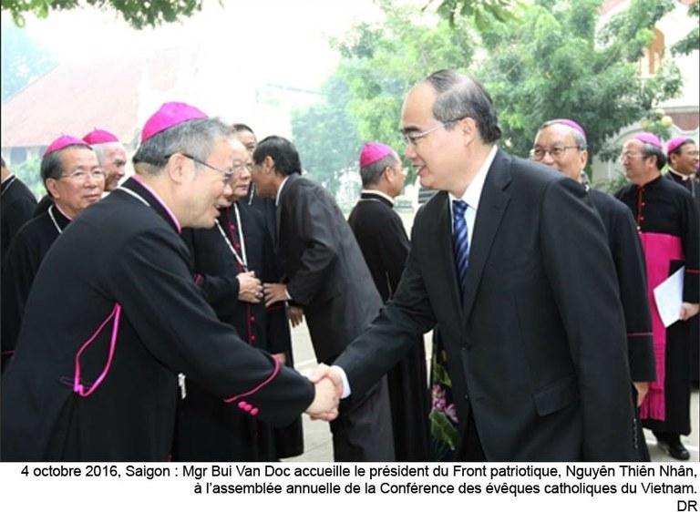 Vietnam – Mgr Joseph Nguyên Chi Linh, nouveau président de la Conférence épiscopale, est nommé archevêque de Huê