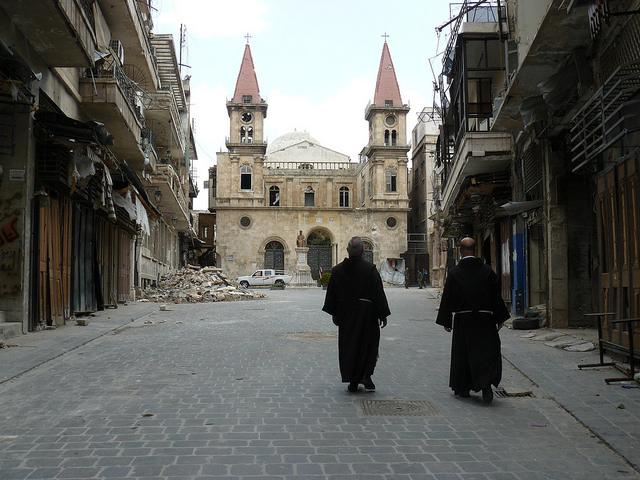 Témoignage d'un franciscain au cœur de la ville d'Alep