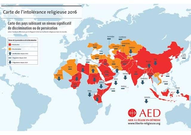 Rapport de l'AED, un génocide est en cours, la liberté religieuse bafouée dans 38 pays