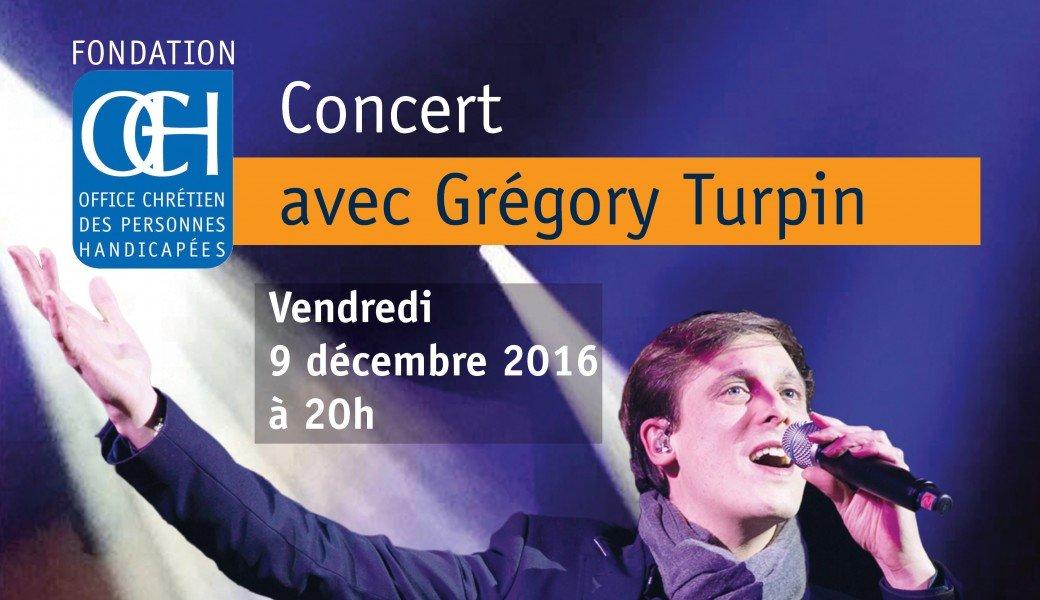 Paris – Grégory Turpin en concert pour l'OCH