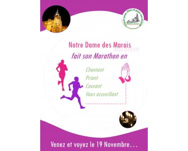 """Marathon du Beaujolais: """"Courir pour Dieu et pour ses frères"""""""