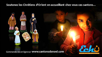 """A l'approche de Noël, achetez et offrez les """"santons de Qaraqosh"""""""