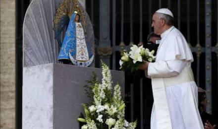 Samedi de Pentecôte: grand chapelet du pape François