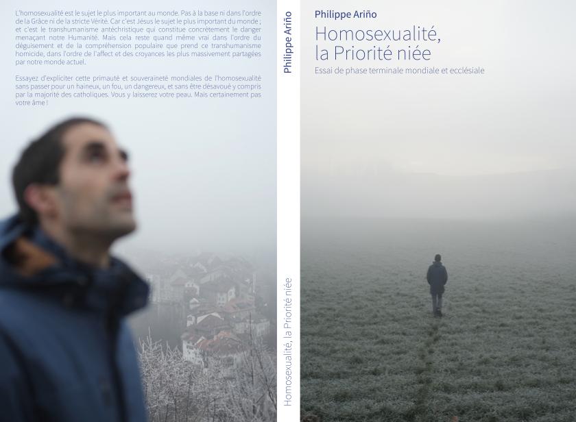 Homosexualité, la Priorité niée, le dernier livre de Philippe Ariño