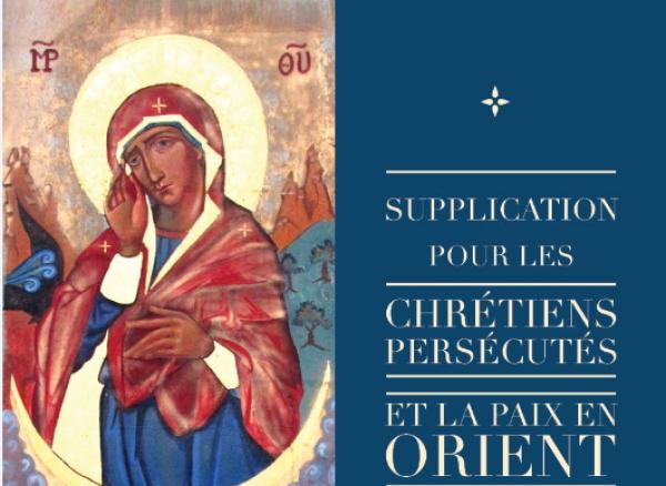 Prière pour les chrétiens d'Orient ce vendredi à l'appel de Mgr Jean-Abdo Arbach