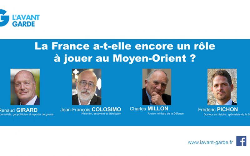 """Conférence exceptionnelle: """"La France a-t-elle encore un rôle à jouer au Moyen-Orient?"""" le 15 décembre"""
