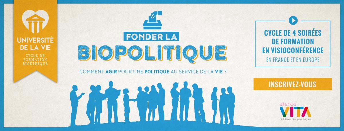 """""""Fonder la biopolitique"""": l'université de la vie d'Alliance Vita, c'est aussi en Belgique!"""