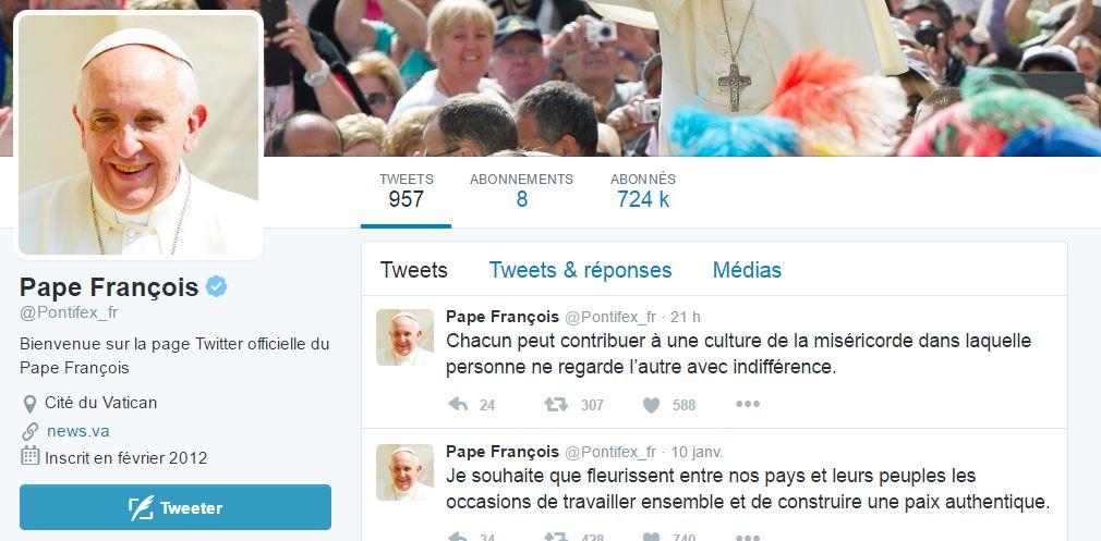 @Pontifex – 3 jours de tweet dédiés aux mineurs migrants
