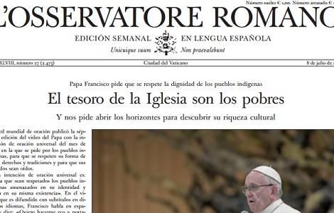Un protestant à la tête de l'Osservatore Romano