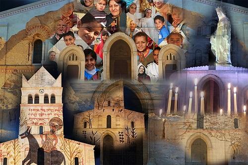 Lyon – Visages d'Orient, lumières d'Ainay: La basilique Saint Martin rayonne pour la fête de la Chandeleur