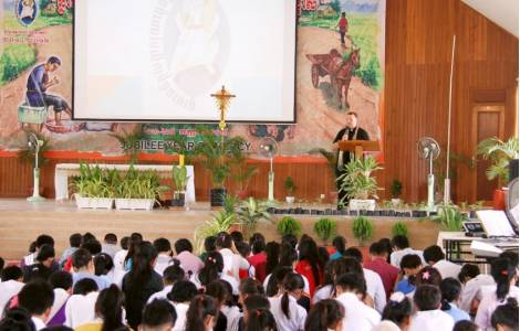 """Cambodge – """"Je voudrais une Eglise qui rende témoignage à la miséricorde et à la tendresse de Dieu"""""""