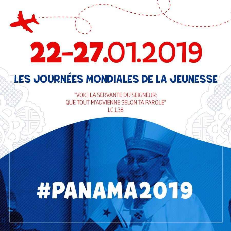 Les prochaines JMJ auront lieu du 22 au 27 janvier 2019 à Panama