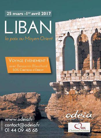 Voyage exceptionnel au Liban avec SOS Chrétiens d'Orient