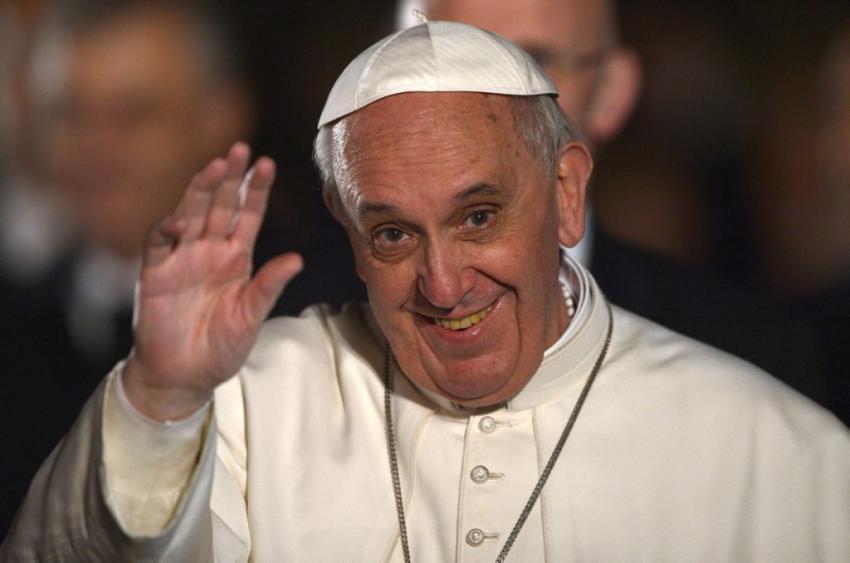 """Pape François: """"Je ne comprends pas la politique intérieure française"""""""