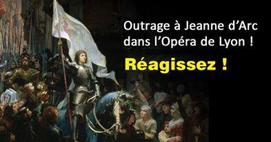 Jeanne d'Arc outragée