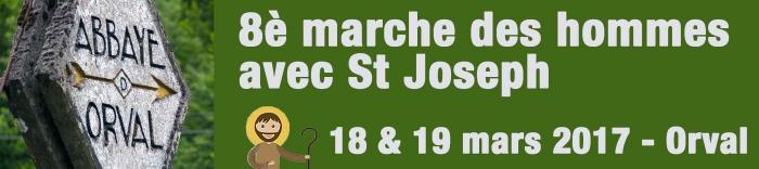 8° Marche des hommes avec saint Joseph à Orval