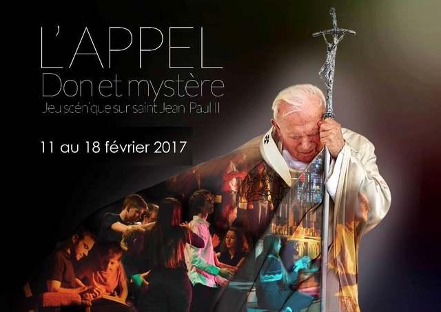 """Bruxelles – """"L'appel, don et mystère"""": le jeu scénique retraçant la vie de saint Jean Paul II"""