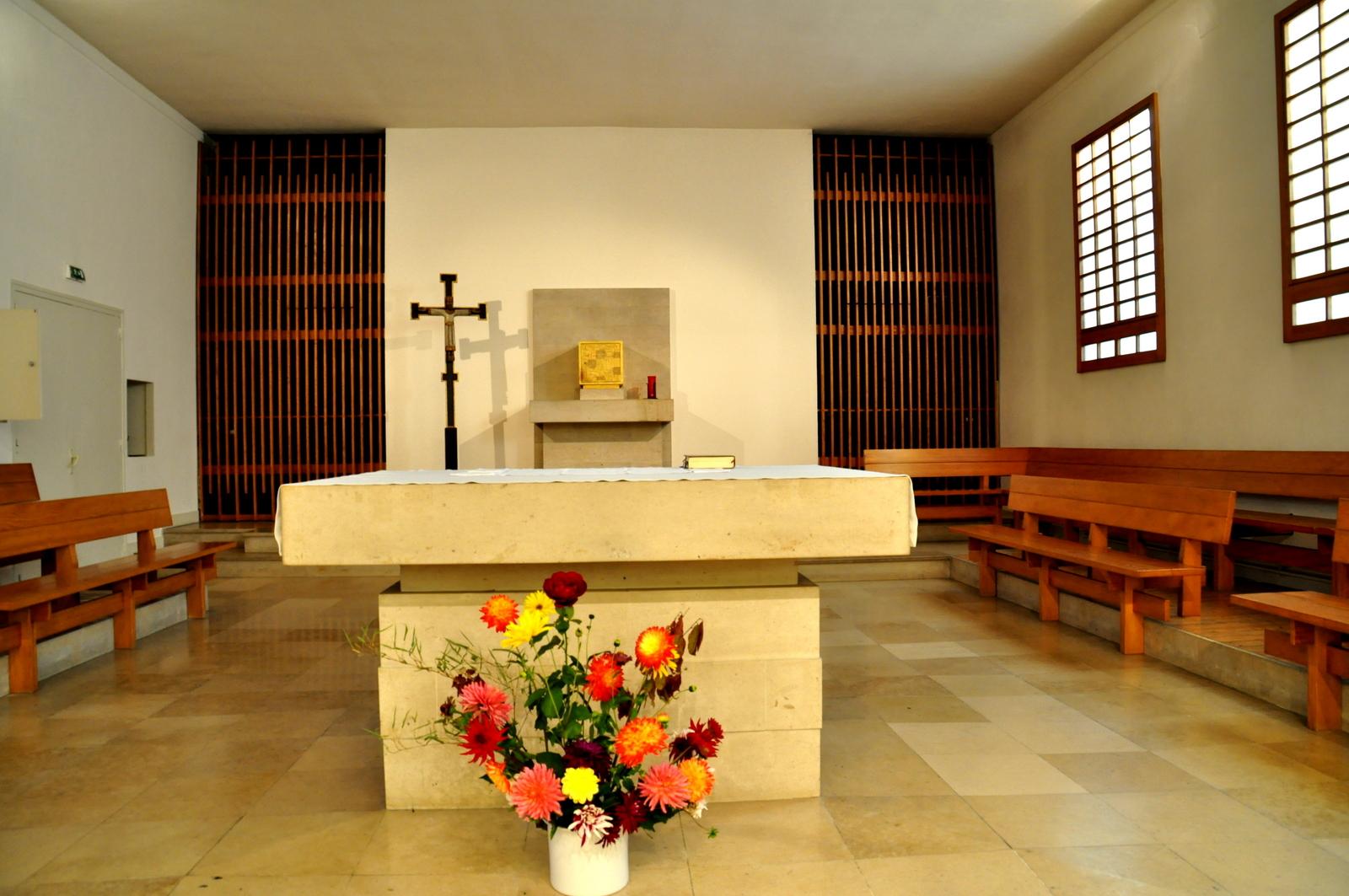 Messe de réparation au couvent des carmes d'Avon