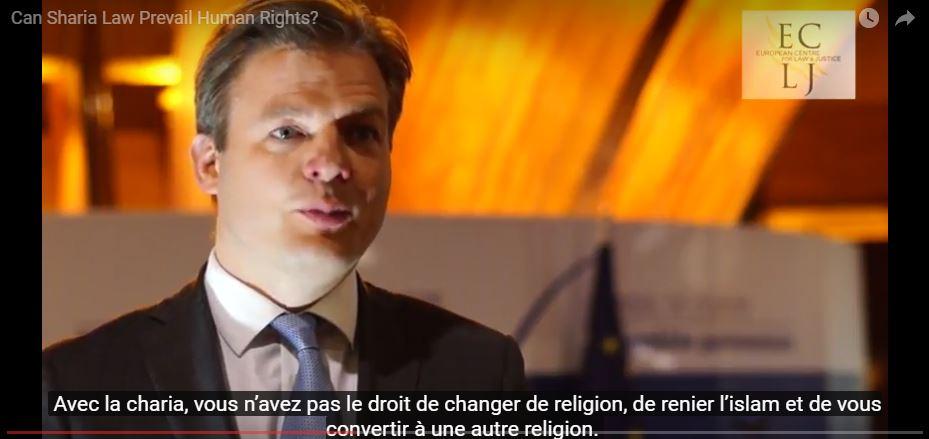 La Charia est-elle compatible avec les droits de l'Homme? L'ECLJ s'interroge