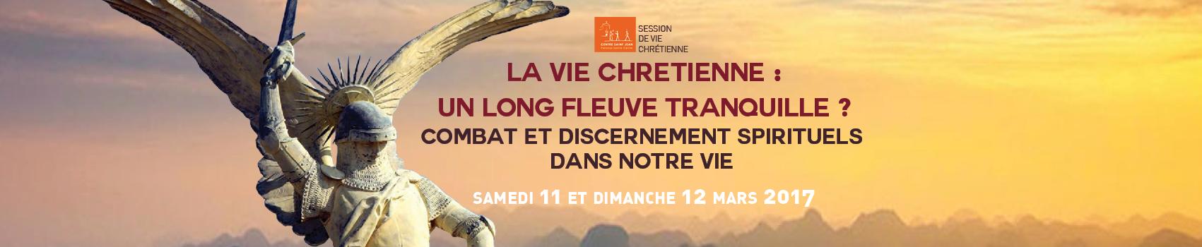 """""""Combat et discernement spirituels dans nos vies"""": session de formation au centre St Jean à Boulogne"""