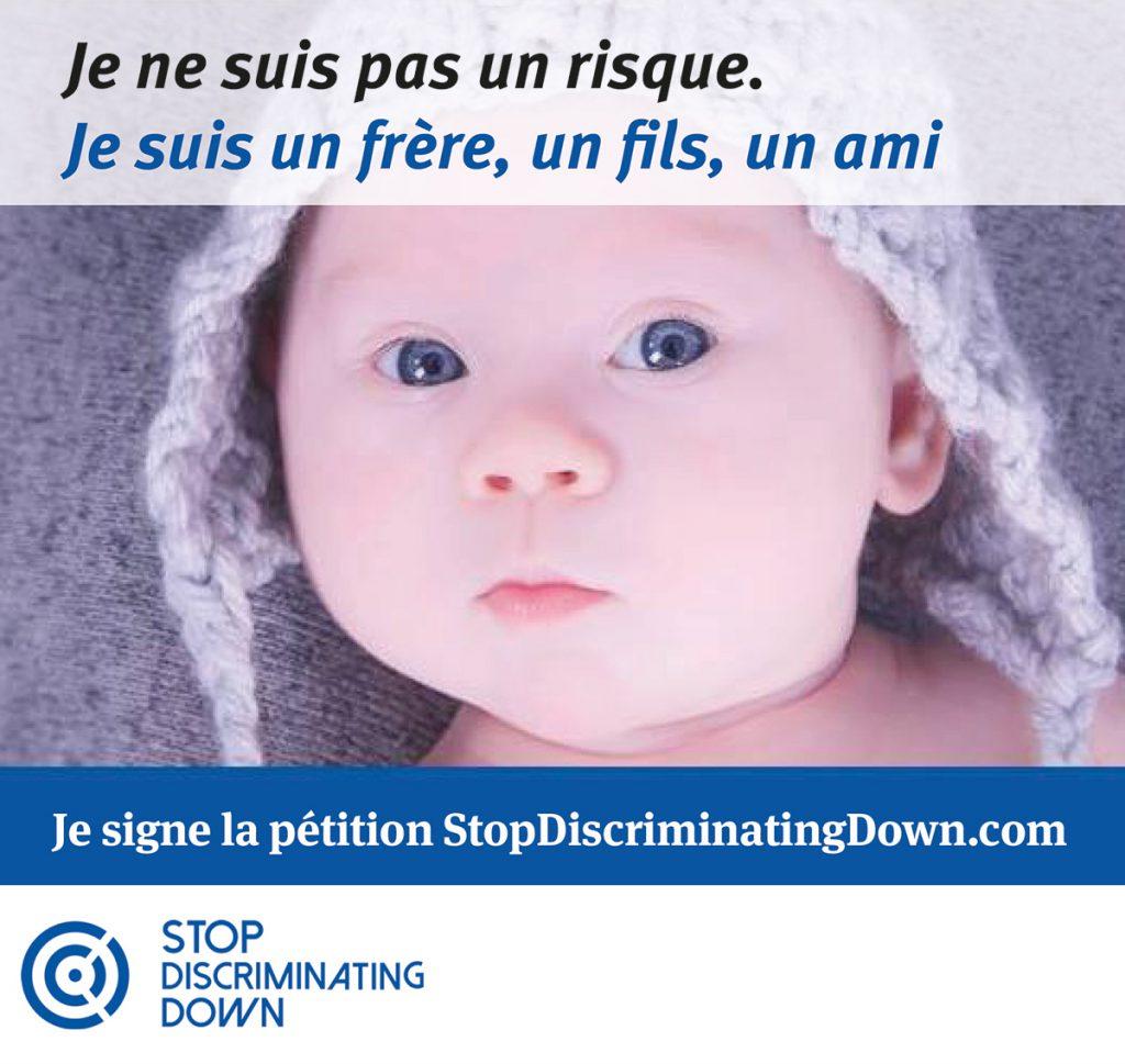 De chez vous, vous pouvez défendre les enfants trisomiques jusqu'à l'ONU
