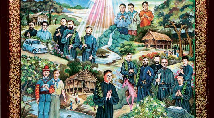 Paris – Action de grâce pour la béatification des martyrs du Laos