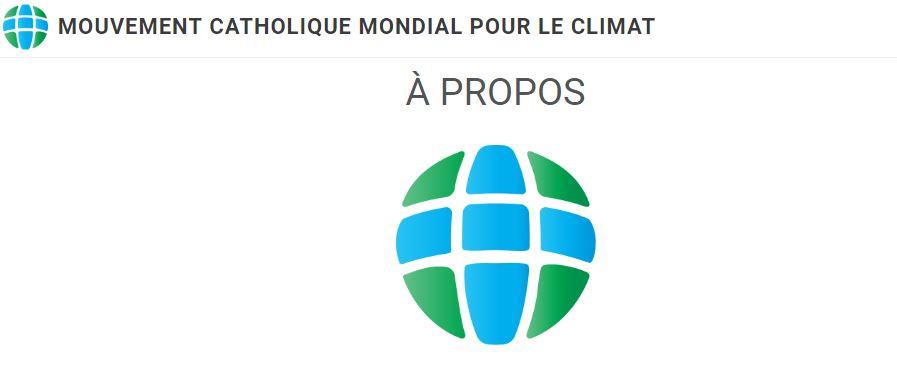 Le pape encourage le mouvement catholique mondial pour le climat