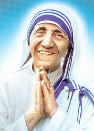 Mère Teresa à Pontmain