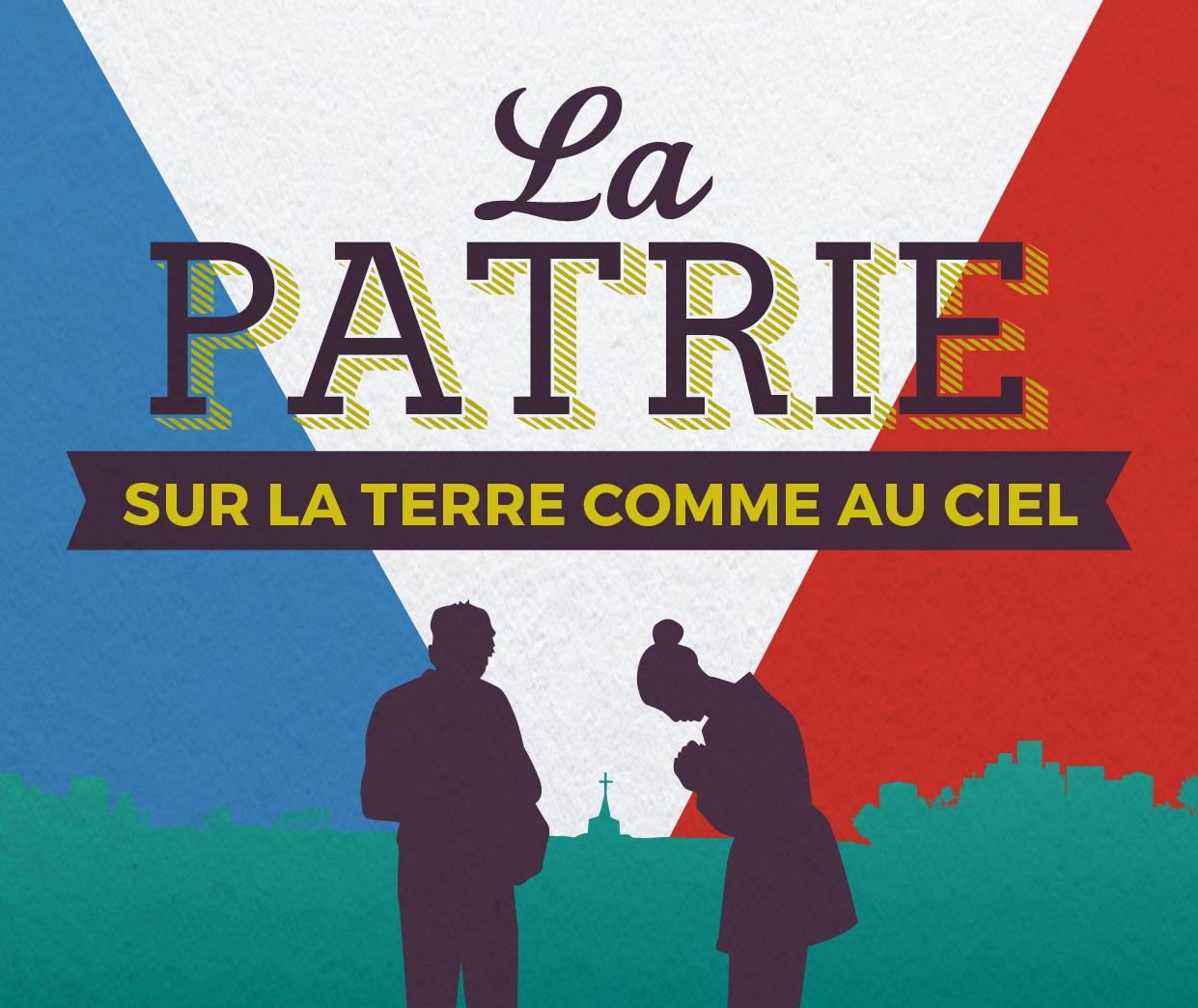 """Paris – """"La patrie, sur terre comme au ciel"""": interventions et table ronde"""
