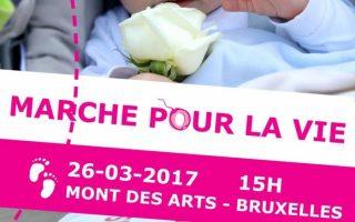 Bruxelles marche pour la vie