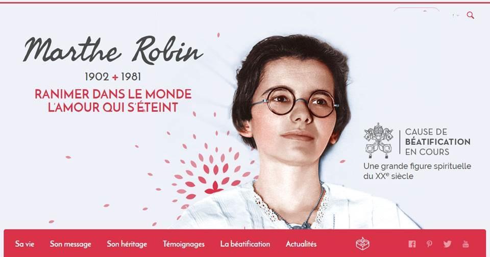 Redécouvrez Marthe Robin à travers un nouveau site qui lui est dédié
