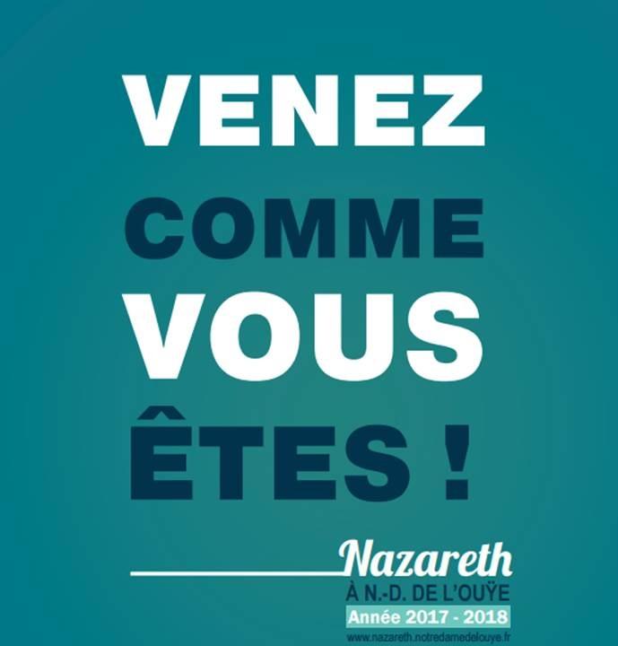 Une nouvelle école de vie en région parisienne: Nazareth, à Notre-Dame de l'Ouÿe