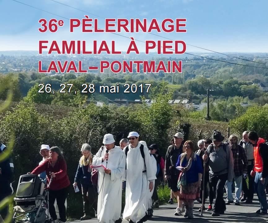 Diocèse de Laval – Pèlerinage pour les familles à pied à Pontmain